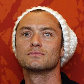 Jude Law is filming his new movie in Vienna