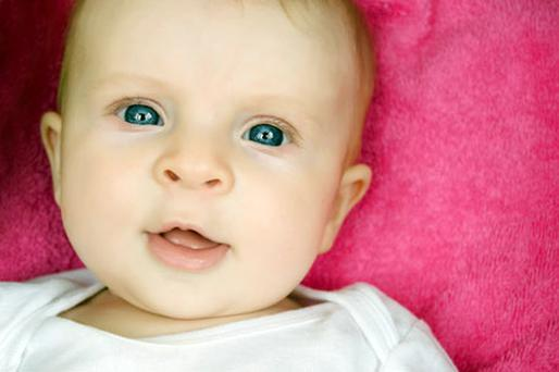 Parents are asked about a child's eye-gaze and other forms of age-appropriate communication. Photo: Thinkstockphotos.com