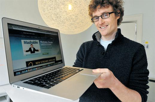 Paddy Cosgrave: 'Events, like the Dublin Web Summit, is where you meet investors, media, founders, partners, employees and share ideas so they are vital to the ecosystem there.'