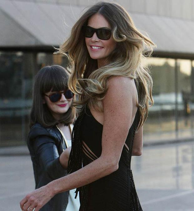 Elle MacPherson is a fan of the balayage technique