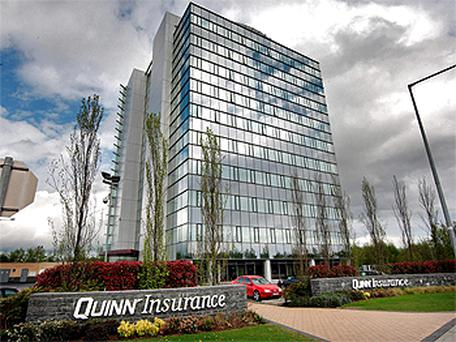 The Blanchardstown offices of Quinn Insurance. Photo: Frank McGrath