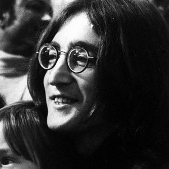 Microphones and historic equipment from John Lennon's home studio are to be sold at auction