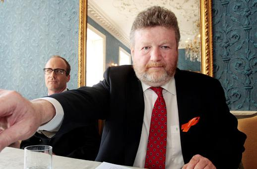 DETERMINED: Health Minister Dr James Reilly's plan to appoint civil servants to the HSE board has raised concerns over its independence. Photo: Tom Burke
