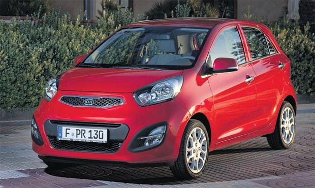 SLEEK: Stylish and economical, the Picanto is light on fuel and its interior has been improved