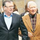 Joe Duffy and Gay Byrne.