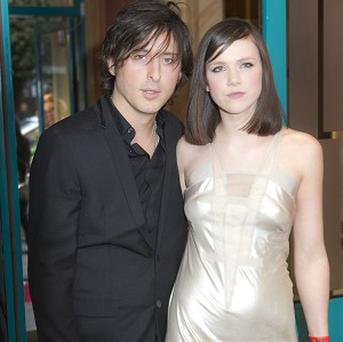 Carl Barat and Edie Langley have been enjoying being parents