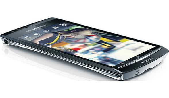 A sight for sore eyes: The Sony Xperia Arc boasts a massive 4.2 inch screen, as well as a powerful dual-core processor