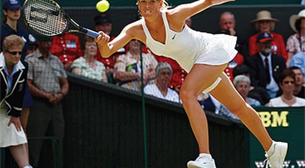 Recommended viewing - Maria Sharapova at Wimbledon