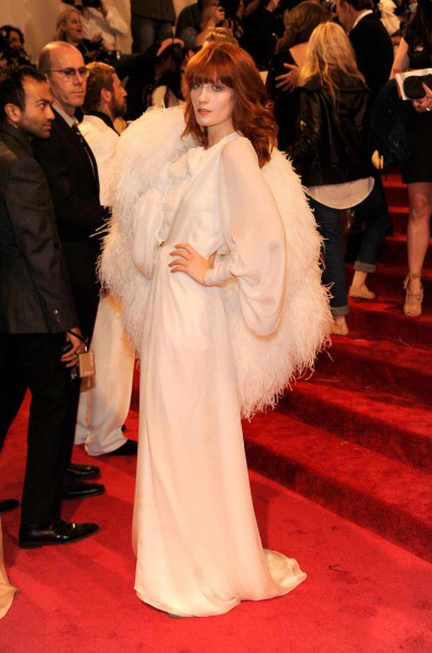 Florence Welch attends the