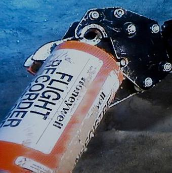 The flight data recorder from the 2009 Air France flight that went down in the mid-Atlantic has been found (AP)