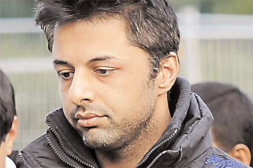 Shrien Dewani arrives for his extradition hearing