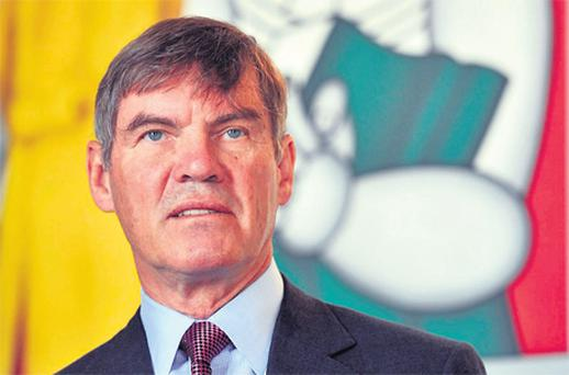 Ted Kelly, chairman and CEO of Liberty Mutual which has bought Quinn Insurance for €1