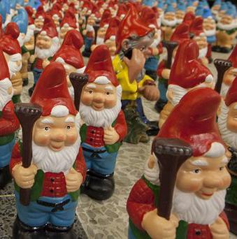 Thousands of new garden gnomes could soon be 'cheering up' homes, according to a survey