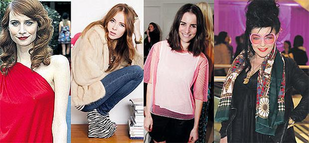Ireland's most stylish women: Faye Dinsmore, Angela Scanlon, Celestine Cooney and Maria Fusco