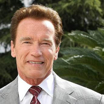 Arnold Schwarzenegger plans to star in the drama Cry Macho for Oscar-winning producer Albert Rudd (AP)