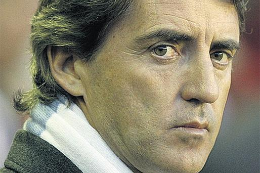 Roberto Mancini: insists he won't gamble on fitness of any player for Cup final