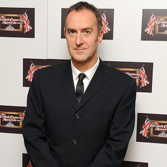 Angus Deayton bares his behind in a new film