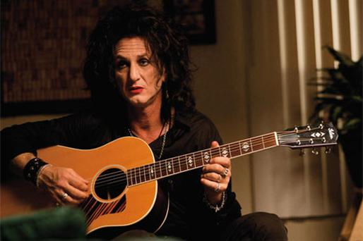 Sean Penn from Paolo Sorrentino's English language debut This Must Be The Place. Photo: PA