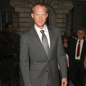 Paul Bettany was hurt during an action sequence on the set of Priest