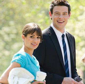 Stars of Glee, including Lea Michele and Cory Monteith, are heading for the big screen