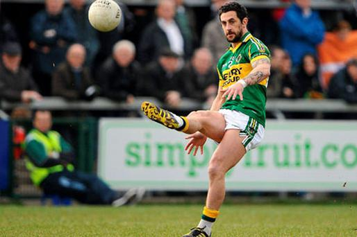Kerry star Paul Galvin has not trained since suffering a hamstring injury in the last round of the league.