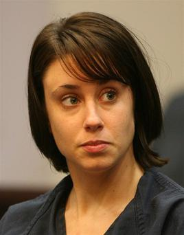 Casey Anthony attends a hearing Tuesday, July 29, 2008 in the Orange County Courthouse where Judge Stan Strickland denied a motion to seal Casey Anthony's communications outside the jail this afternoon, choosing to side with protecting the First Amendment. Casey Anthony,the 22-year-old mother reported her daughter missing about 2 weeks ago, more than a month after the little girl allegedly disappeared. Anthony remaines in jail on child-neglect and other charges as the search for Caylee Marie Anthony continues. (Red Huber/Orlando Sentinel)
