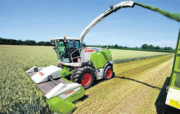 Claas reportedly sold 13 self-propelled harvesters in Northern Ireland last year
