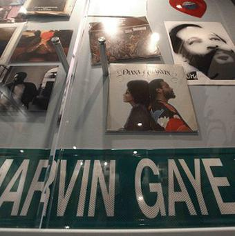 Marvin Gaye memorabilia has gone on display at the Motown Historical Museum in Detroit