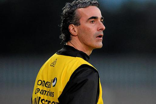 Donegal boss Jim McGuinness gets the ball rolling for the next generation of inter-county managers this weekend against Antrim.