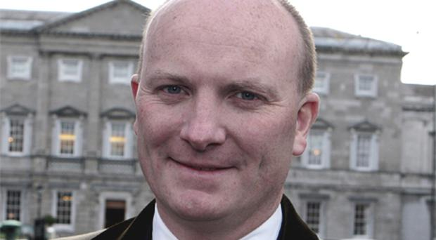 Declan Ganley is one of the four member management team behind Columbanus - a Swiss assets management firm. Photo: Tom Burke