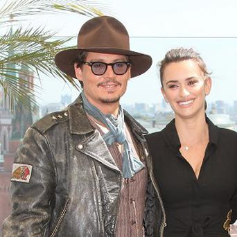 Penelope Cruz stars alongside Johnny Depp in the latest Pirates adventure