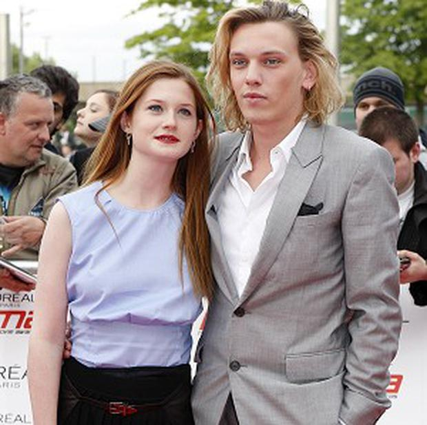 Jamie Campbell Bower and Bonnie Wright have both been working on big sequels