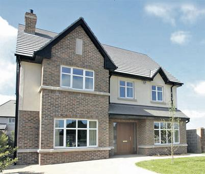 The five-bedroom detached house type at Deepforde, Drogheda €215,000 for three-bedroom semis and from €390,000 for the four- and five-bedroom detached houses