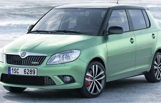 SKODA FABIARS RATING 83/100