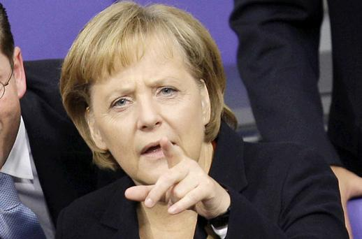FINGER OF BLAME: Can we really expect anything but hostility from German Chancellor Angela Merkel and other EU leaders after the years of greed and recklessness?