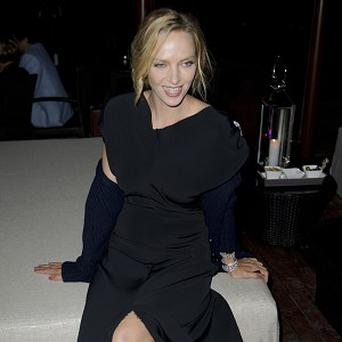 Uma Thurman was honoured at the event