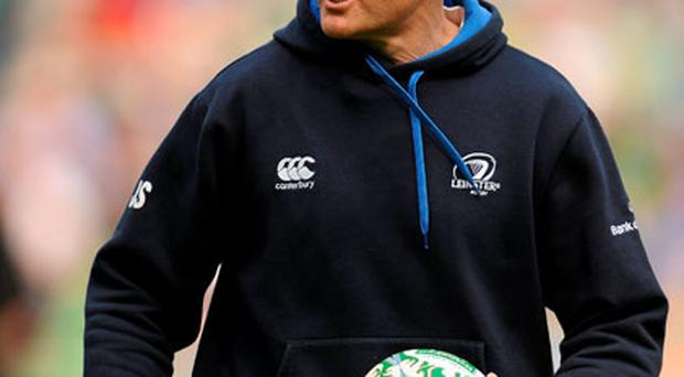 Joe Schmidt's ability to handle pressure was tested very early on at Leinster but the New Zealander kept his cool and stuck to his principles.