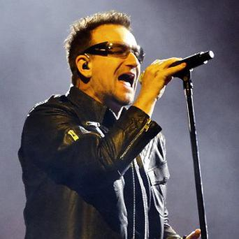 Bono is in Mexico for U2's 360 world tour