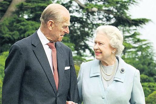 Queen Elizabeth and the Duke of Edinburgh