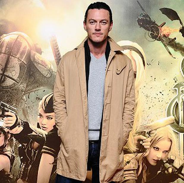 Luke Evans is in the frame for a role in The Great Gatsby