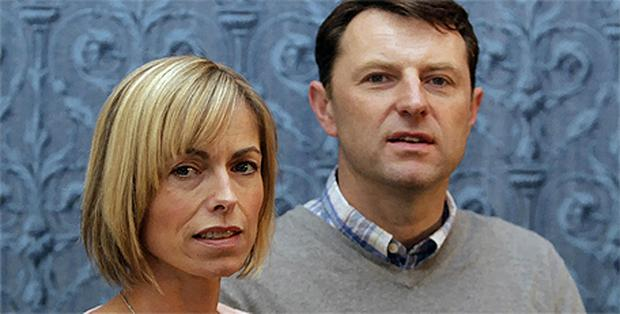 The McCanns believe the move is a 'step in the right direction.' Photo: PA