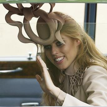 Princess Beatrice's hat caused a stir at the royal wedding