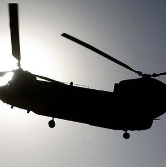 Residents were shocked to see a Royal Artillery display in the skies above east London