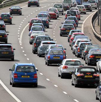 Couples in cars are more likely to be getting angry than getting amorous, says survey