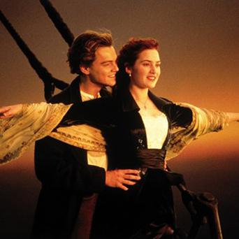Kate Winslet and Leonardo DiCaprio inTitanic, which will be rereleased in 3-D on April 6 next year
