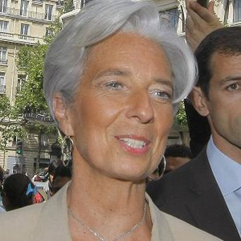 Christine Lagarde has emerged as Europe's likely candidate to lead the International Monetary Fund (AP)