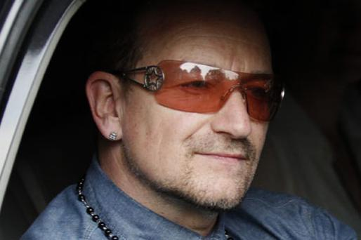 WELL CONNECTED: Bono Photo: Reuters