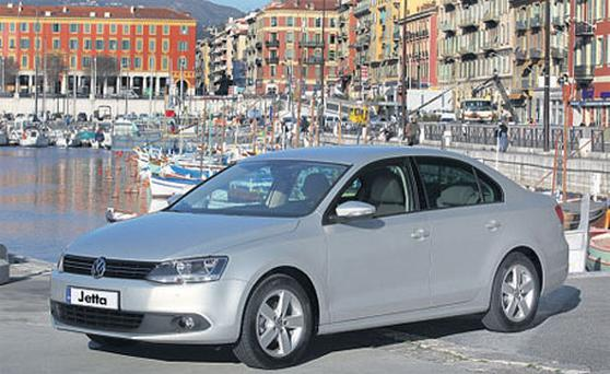 FRESH DESIGN: Volkswagen hopes to make significant inroads in the small saloon market with its new Jetta
