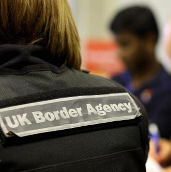 UK Border Agency staff need to improve how they address threats, a new report has found
