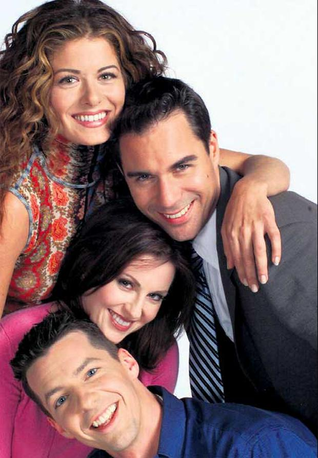 TOUGH GIG: In TV show 'Will and Grace', gay lawyer Will, was best friends with Grace, which meant being her therapist, stand-in boyfriend, personal shopper, shoulder-to-cry-on ...